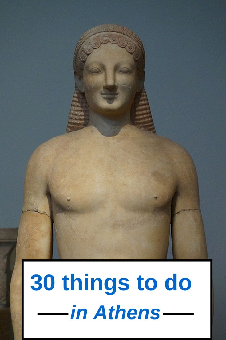 Top 30 things you should do in Athens Greece!