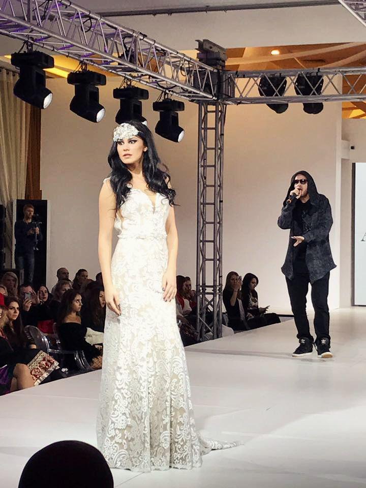 Brand Katy Corso on amazing event Bucharest Fashion Week! #Bucharestfashionweek2017 #weddingdresses #HauteCouture #weddingfashion