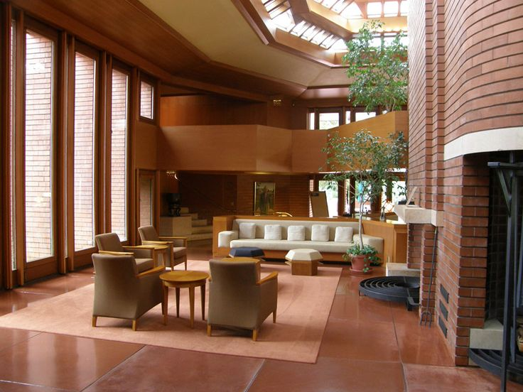 157 Best Images About Frank Lloyd Wright Design Homes On Pinterest