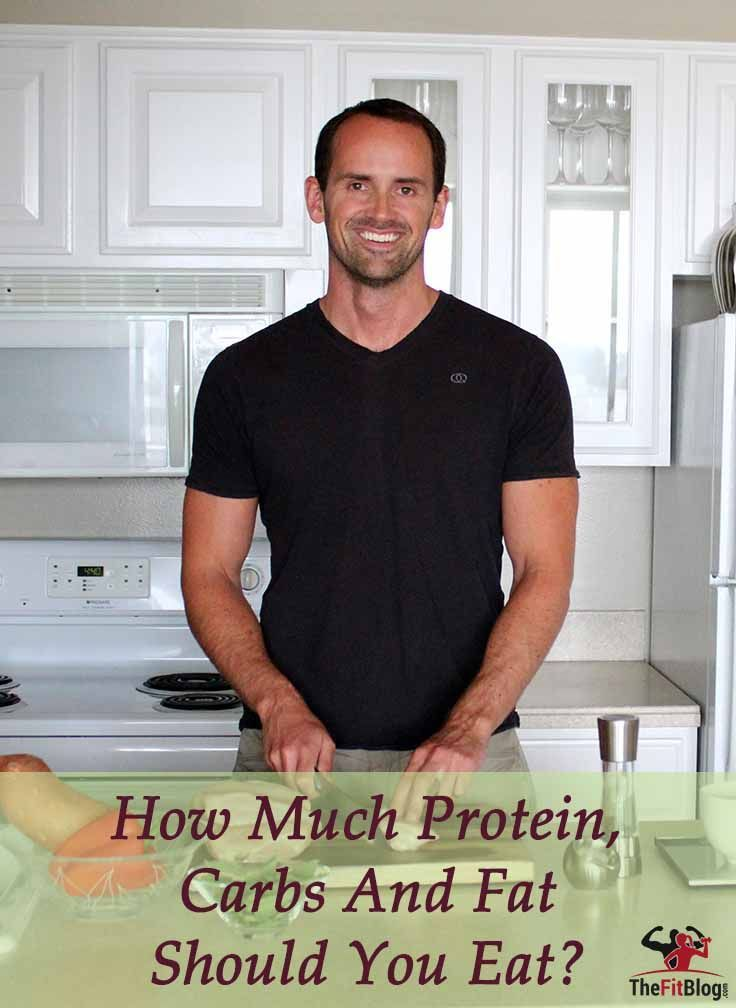 How Much Protein, Carbs & Fat Should You Eat