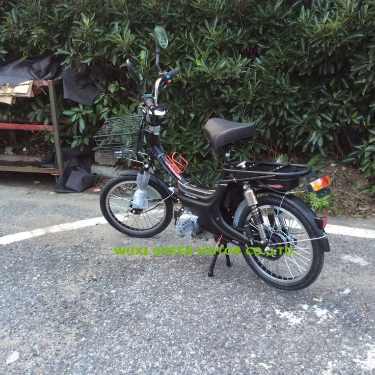 35CC motocicleta gas moped with pedal