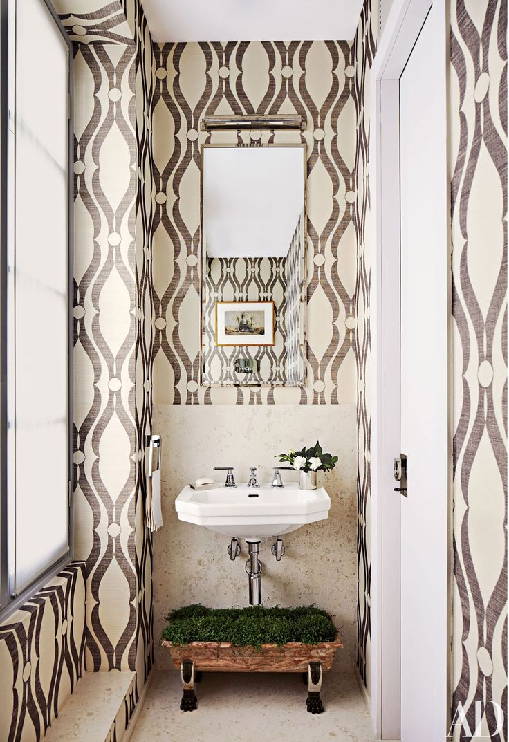 These surprising and cleber takes on the wallpaper trend yield maximum design results. | archdigest.com