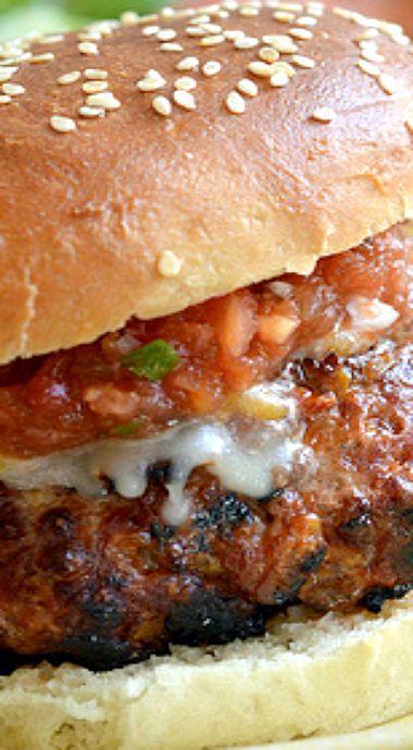 Grilled Santa Fe Burger