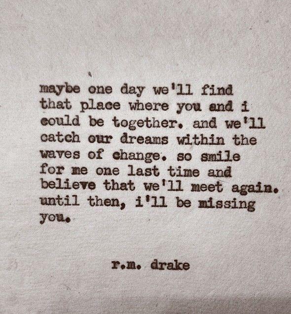 Until we meet again <3
