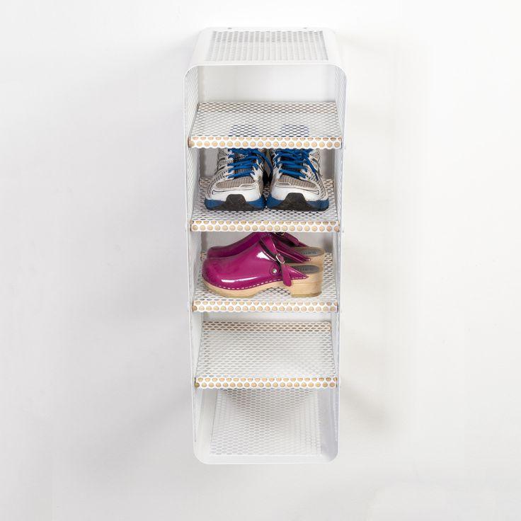 Tica Copenhagen | Shoe rack white | Storage | Closet