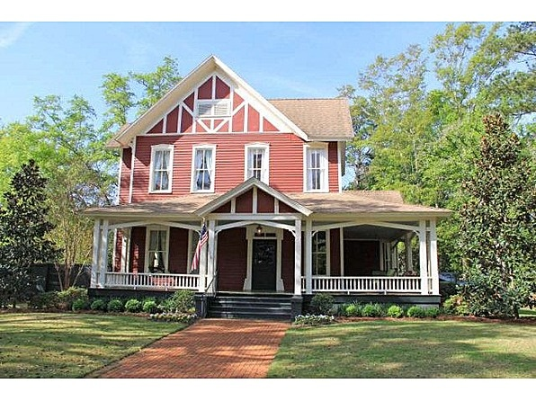 The Jerger House Circa Sits In Heart Of Historic Downtown Thomasville GA Beautiful Remodel Throughout