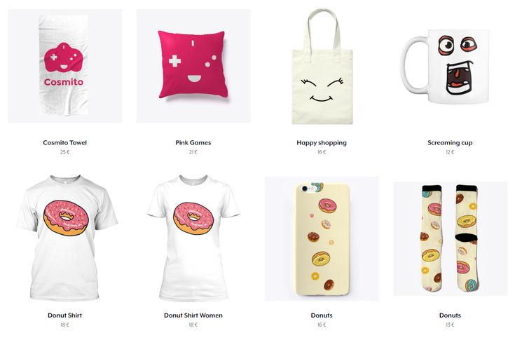Do you want to support #indiedev?  Well, I have launched a #Teespring store of Cosmito things where you can buy and support at the same time:  teespring.com/stores/cosmitogames  Let's make #games!