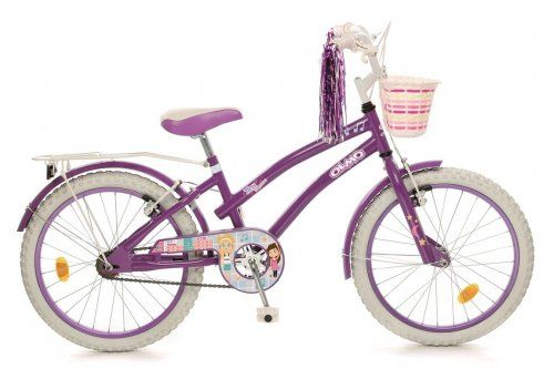 BICICLETA MARCA OLMO MODELO TINY FRIENDS PARA NI�AS RODADO 16