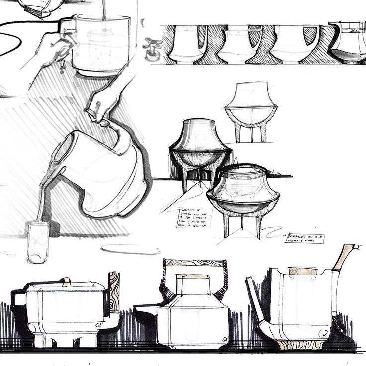 Kettle Ideation   ____________________________________  #industrialdesign #idsketching #sketch #drawing #ideation #conceptsketch #ergonomics #semantics #conceptdevelopment #productdesign #sketchpage #layout #copicmarkers #kettle #design #ceramic #product #traditionalstyling #japaneseceramic