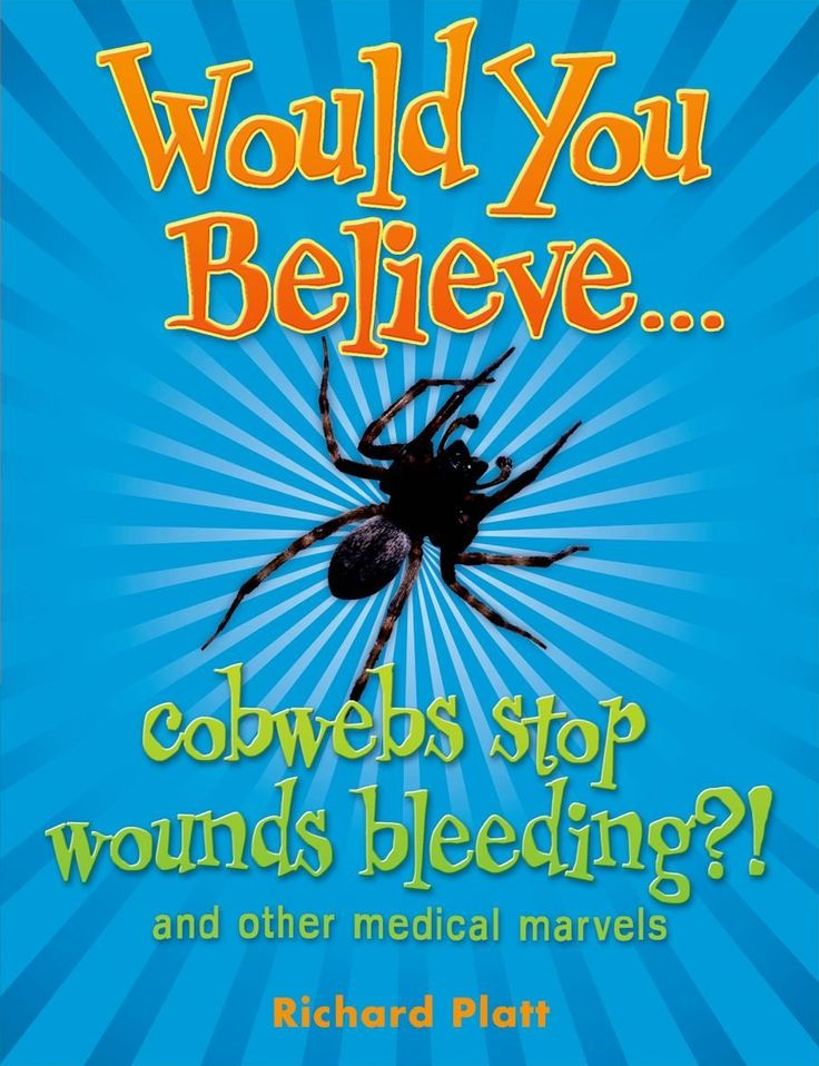 Children's books - Would You Believe...Cobwebs Stop Wounds Bleeding? - Bookle