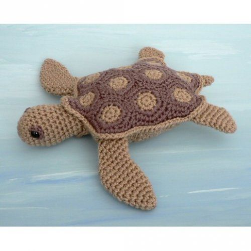 Free Crochet Pattern - (Ninja) Turtle Granny Square Purse from the