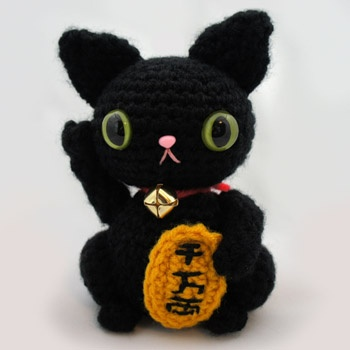 Maneki Neko Amigurumi Patron : 17 Best images about Maneki Neko, Lucky Cat on Pinterest ...