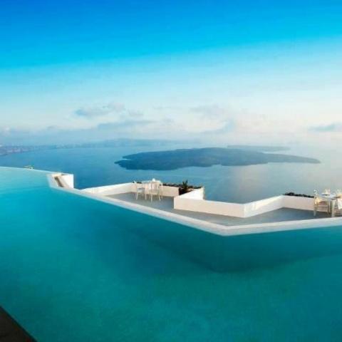 Santorini, Greece Collage: