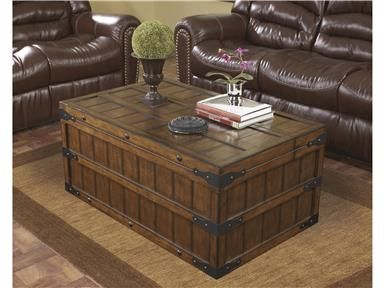 Shop For Signature Design Rectangular Cocktail Table, T588 20, And Other  Living Room