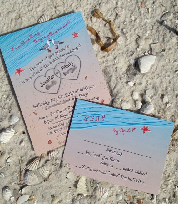 Beach Wedding Invitation Wording: 20 Best Images About Wedding Invitations On Pinterest