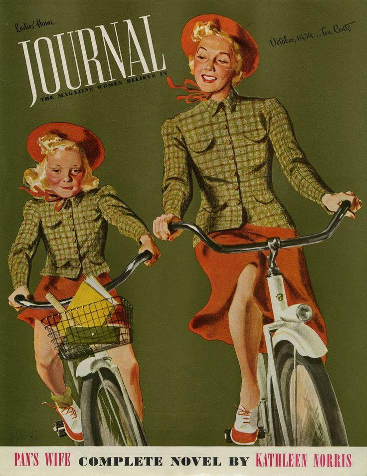 Ladies' Home Journal Magazine, October 1939. Al Parker