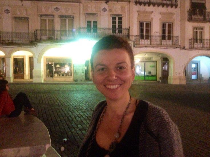 Jo in Evora