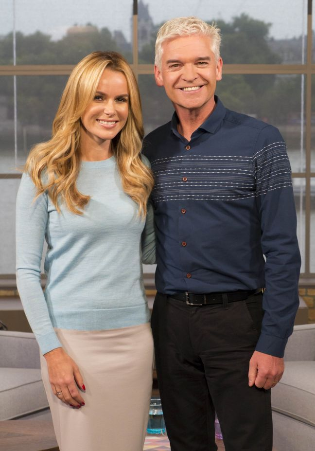 Amanda Holden's This Morning debut divides viewers, Twitter users poke fun at her appearance - Mirror Online
