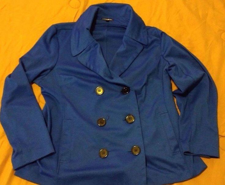 Check out Fashion Bug double breasted stretch blazer suit jacket size plus sz 0X #FashionBug http://www.ebay.com/itm/-/302268218031?roken=cUgayN&soutkn=n0Wb5W via @eBay