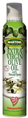 Mantova Spray Extra Virgin Olive Oil, 8.5-Ounce Containers (Pack of 2) ** More details at the link of image at this Dinner Ingredients board