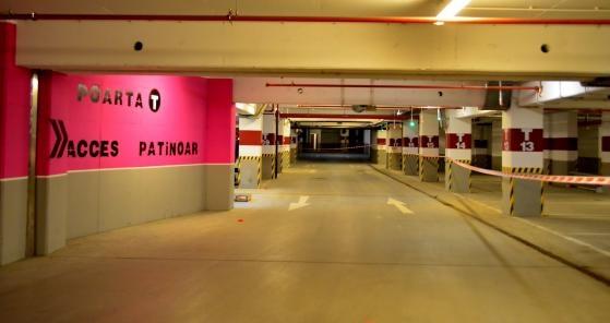 Parcarea subterana