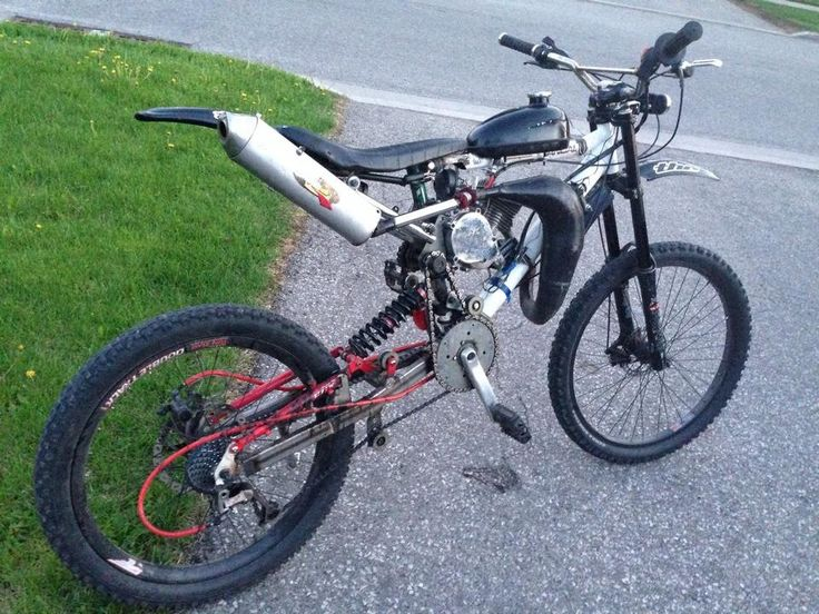 custom chopped and screwed homemade motoped dirt bike. Black Bedroom Furniture Sets. Home Design Ideas