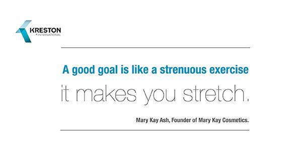 #QuoteOfTheDay, by Mary Kay Ash, Founder of Mary Kay Cosmetics. #Kreston