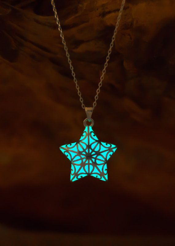 Hey, I found this really awesome Etsy listing at https://www.etsy.com/listing/255432391/glowing-necklace-turquoise-necklace