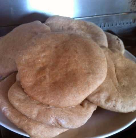 Spelt Pita Broodjes