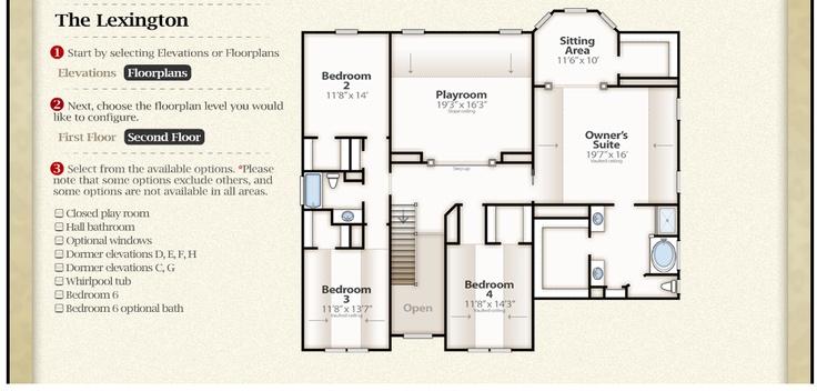 16 best Sheridan Home Plans images – Essex Homes Floor Plans