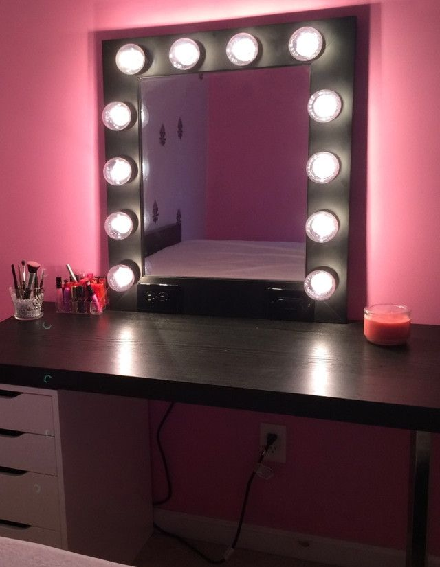 Hollywood Vanity Light Bulbs : 17 Best ideas about Mirror With Light Bulbs on Pinterest Hollywood mirror, Makeup desk and ...