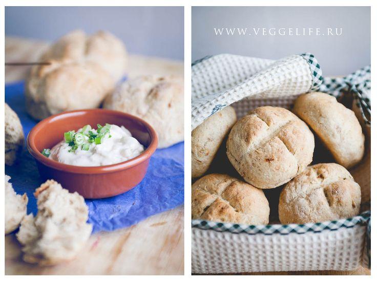 Айоли и луковые булочки (ВЕГАН) | Ни рыбы, ни мяса