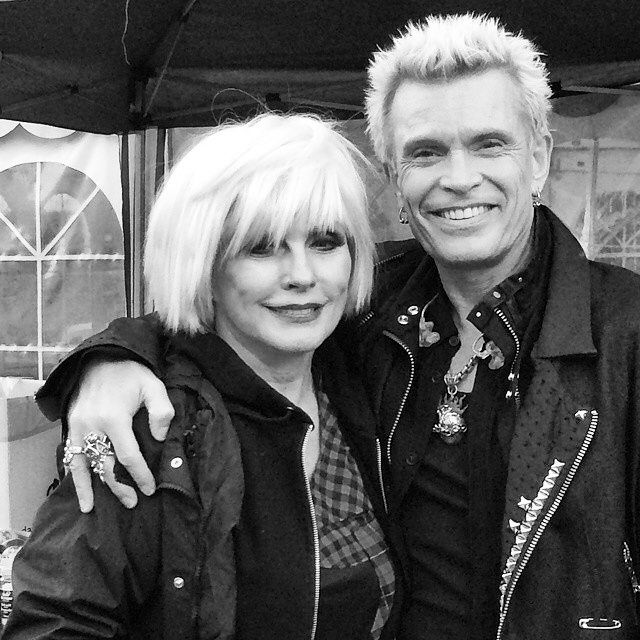 Debbie Harry and Billy Idol in Denmark 2014