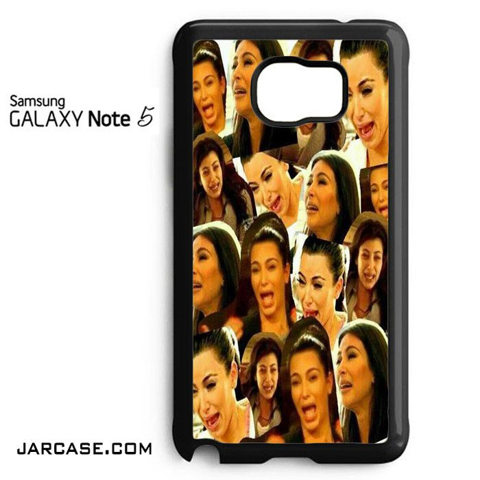 Kim Kadarshian Collage Phone case for samsung galaxy note 5 and another devices