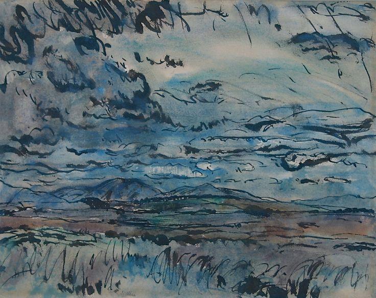 Moorland Landscape - Sir William Gillies