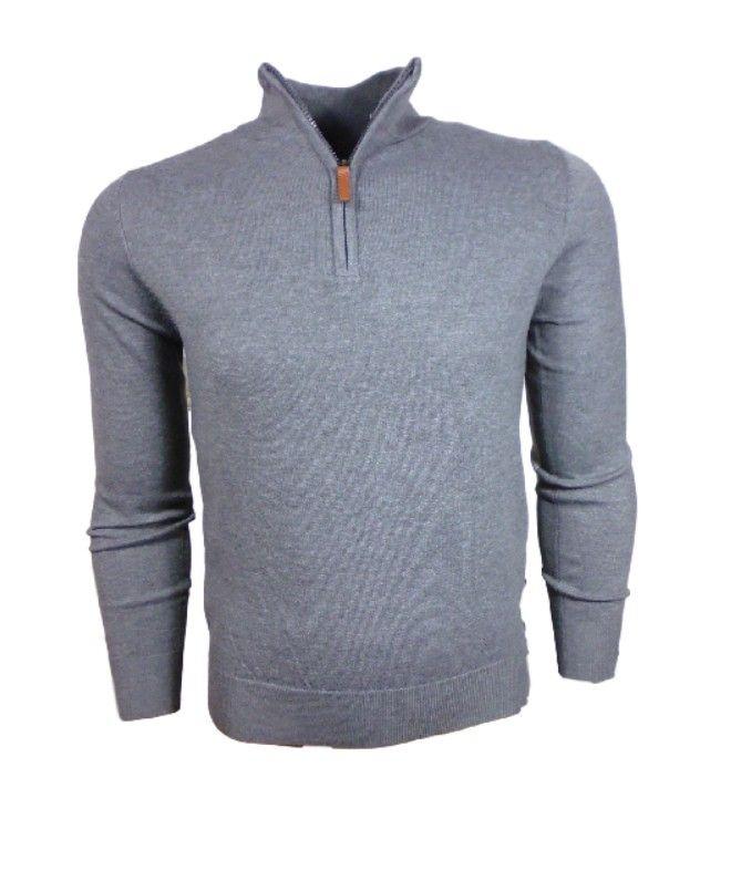 Trui Met Overhemd Heren.Mannen Pullover Trui Grijs Pullover Trui Heren Uitgevoerd In De