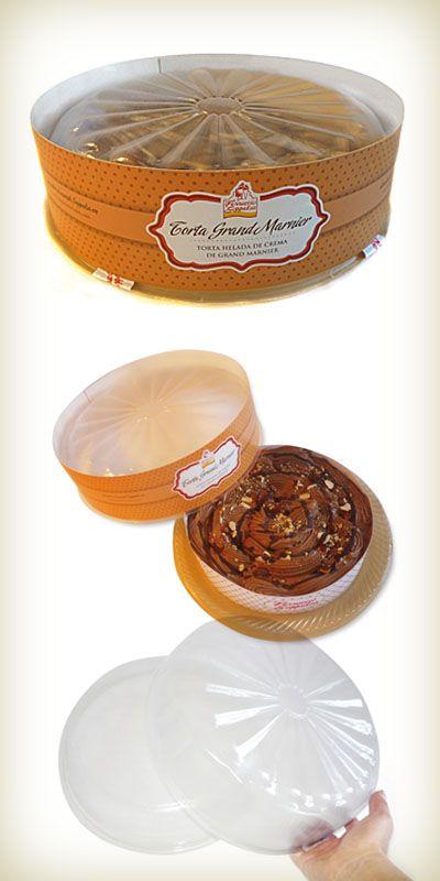 Envase Torta Helada de Gpack distinguida con el Sello de Buen Diseño argentino 2011.