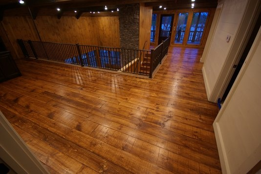 Custom Made Rustic Pine Flooring By Big Dave S Woodworks