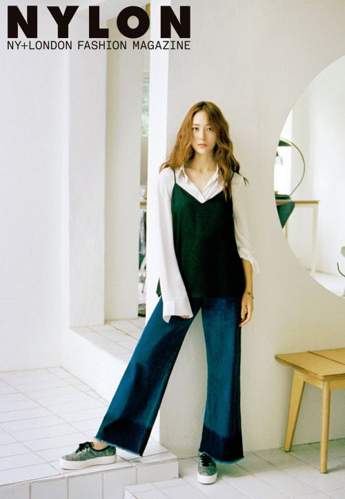 f(x) Krystal Jung Keds Nylon Magazine Korea October 2015 Photoshoot Fashion