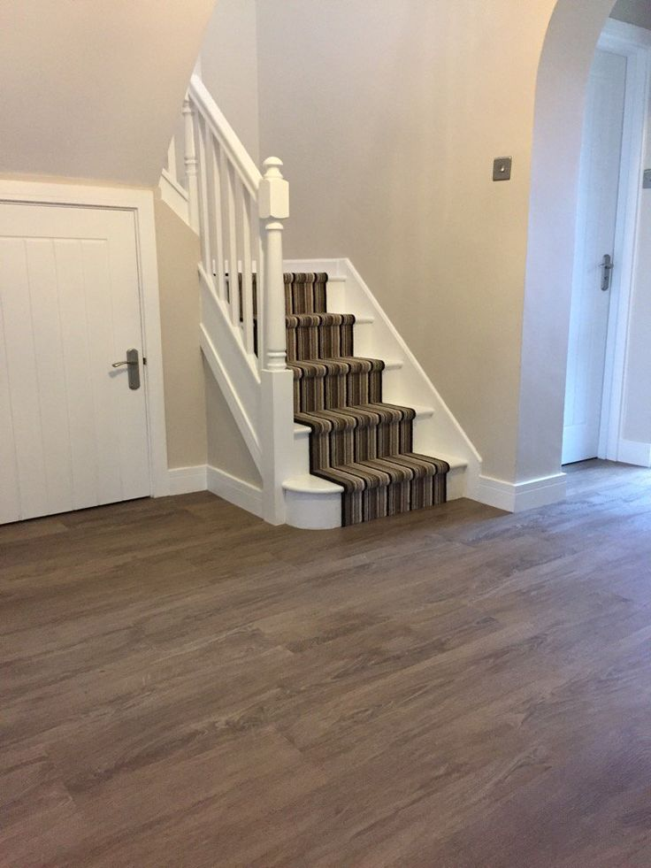 A Kingsmead carpet, fitted on the stairs by E. Davis Flooring.