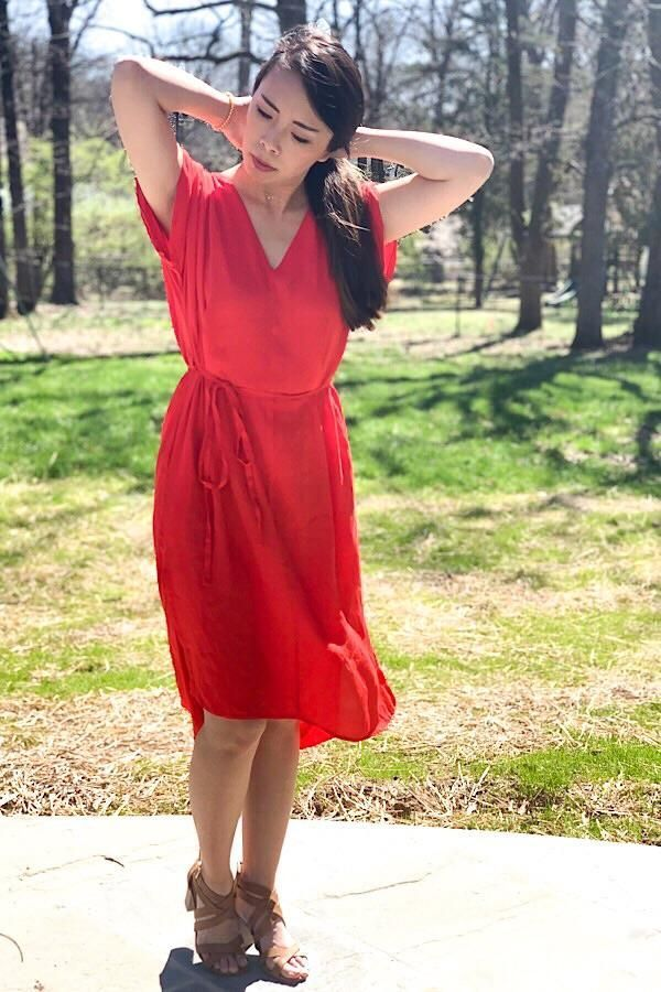 faf4f824abb39 Our Tomato casual Hi Lo Dress is perfect for Summer! #easterdress  #mothersday #