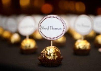 Ferrero name places. Cute!