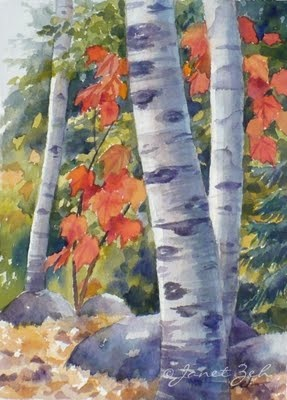 Zeh Original Art Blog Watercolor and Oil Paintings: Autumn collection