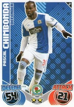 2010-11 Topps Premier League Match Attax #56 Pascal Chimbonda Front