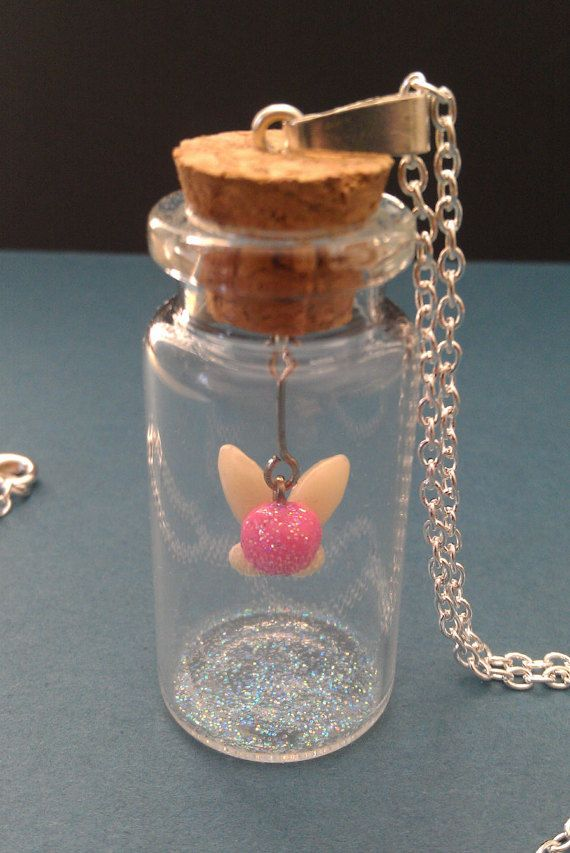 Legend of Zelda Captured Fairy in Bottle por StichCreations en Etsy