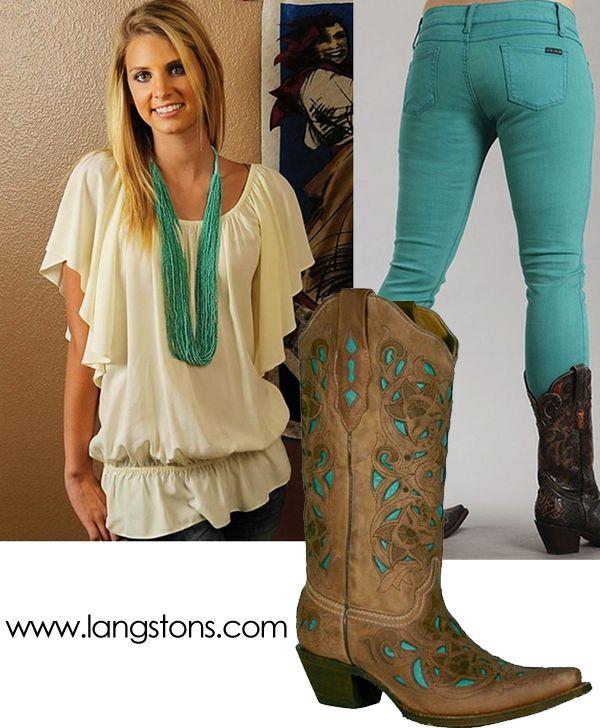 Cute Western Outfits for Women | Wear It: Little Umbrellas | Langston's Western  Wear Blog - Viac Ako 25 Najlepších Nápadov Na Pintereste Na Tému Cowgirl