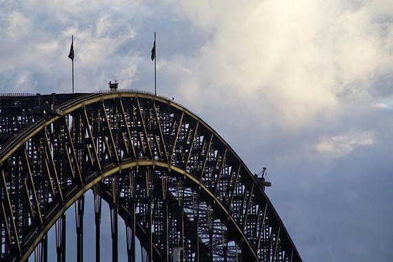 Sydney Harbour Bridge Sydney CBD Architecture NSW Australia
