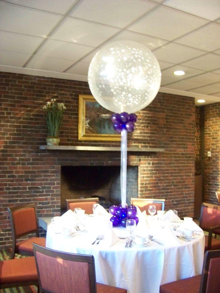 Big Balloon Centerpiece with lights 18 best