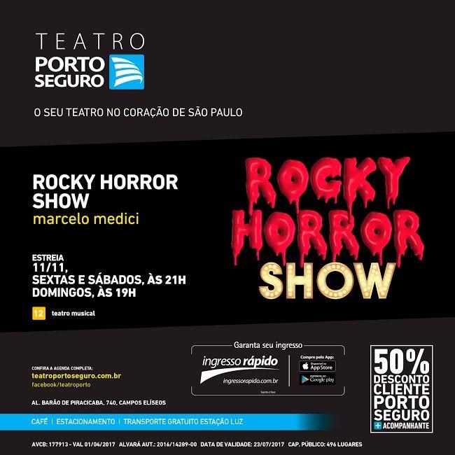 VISUAL ARTV: VISUAL ARTV - TEATRO PORTO SEGURO   ROCKY HORROR S...