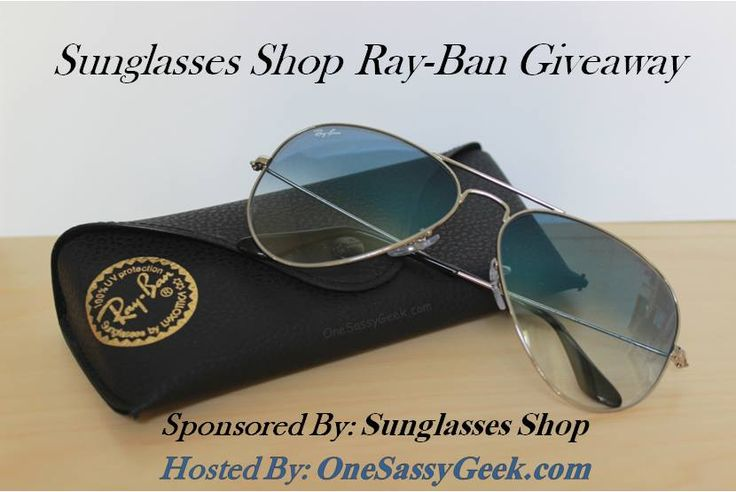 Sunglasses Shop Ray-Ban Giveaway Hurry and enter!http://www.couponhauls.com/welcome-sunglasses-shop-ray-ban-giveaway/